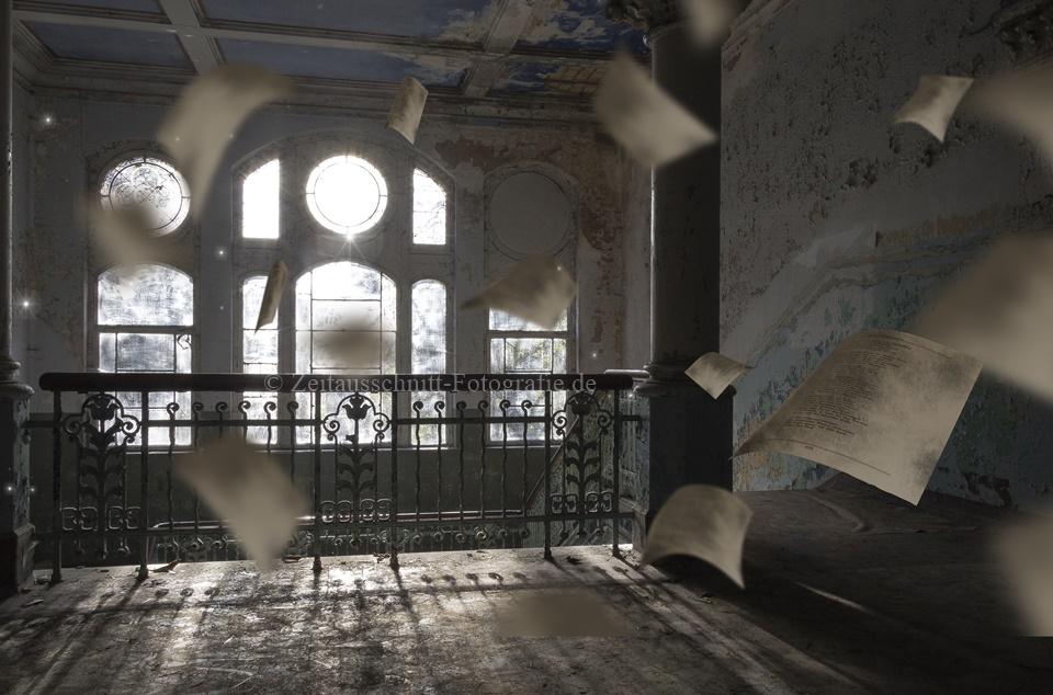 """Beelitz-Heilstätten auch genannt """"Die Geisterhäuser von Beelitz""""."""